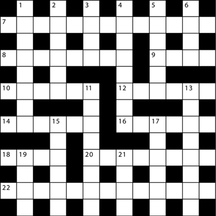 Ya Dual Crossword
