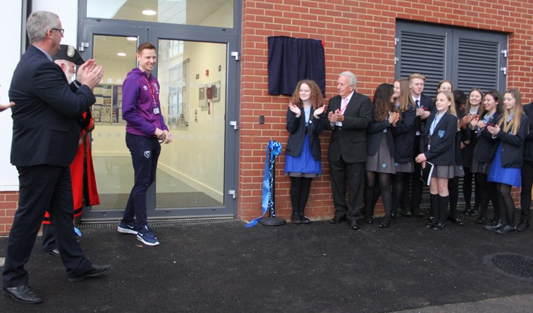 West Ham star opens Havering school sports complex