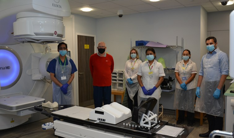 Southend Hospital in clinical trial to improve treatment for prostate cancer patients