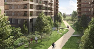 Lea Bridge Gasworks development plans approved