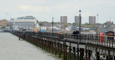 Southend Pier still a major attraction despite 2020 closures