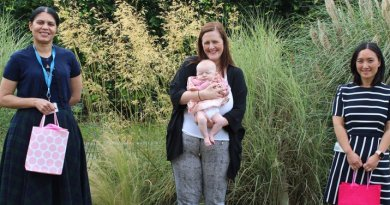 Queen's Hospital scientist meets baby she saved