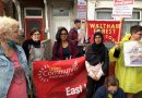 Campaigners support single mum in fight for housing