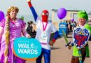 Fundraisers walk for wards on Southend seafront