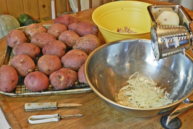 How to Make Homemade Hash Browns- Yellow Birch Hobby Farm