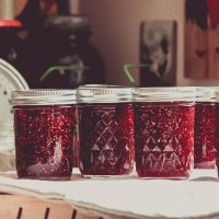 What to Can in Winter: Raspberry Mango Jam
