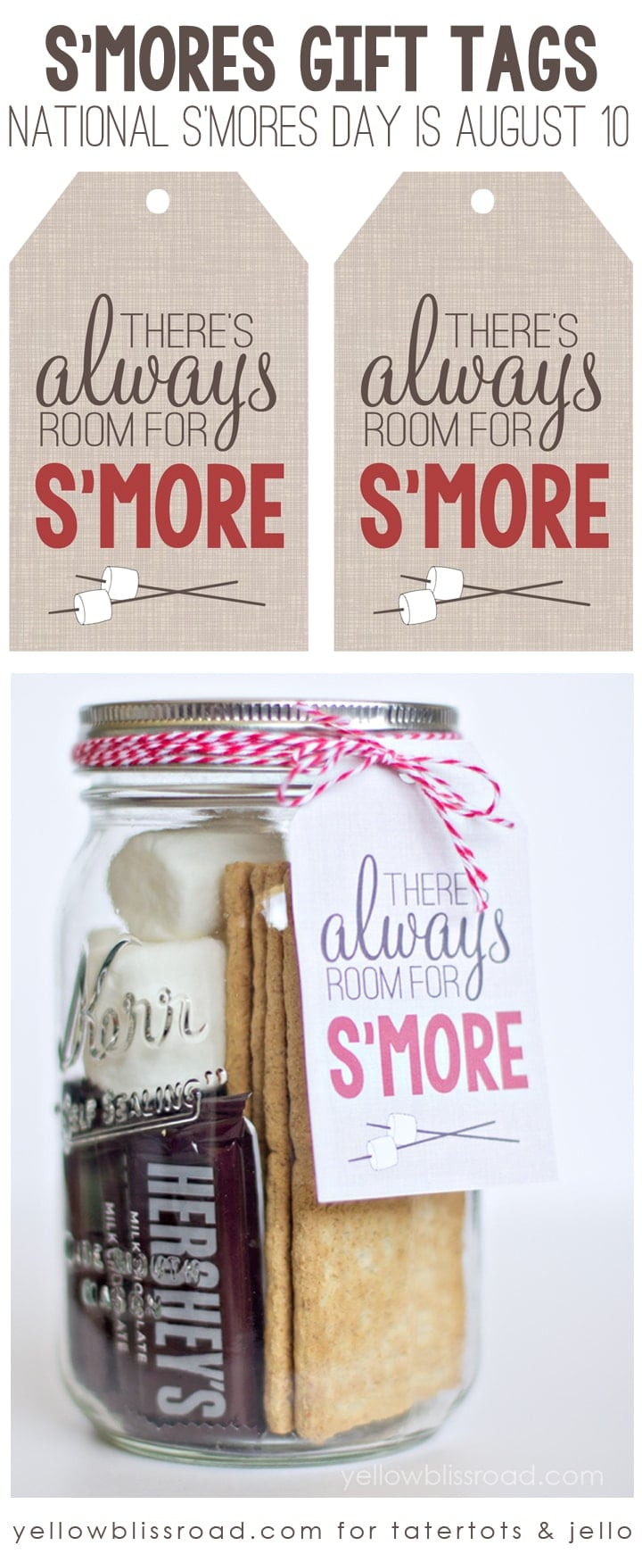 There's always room for s'more graphic