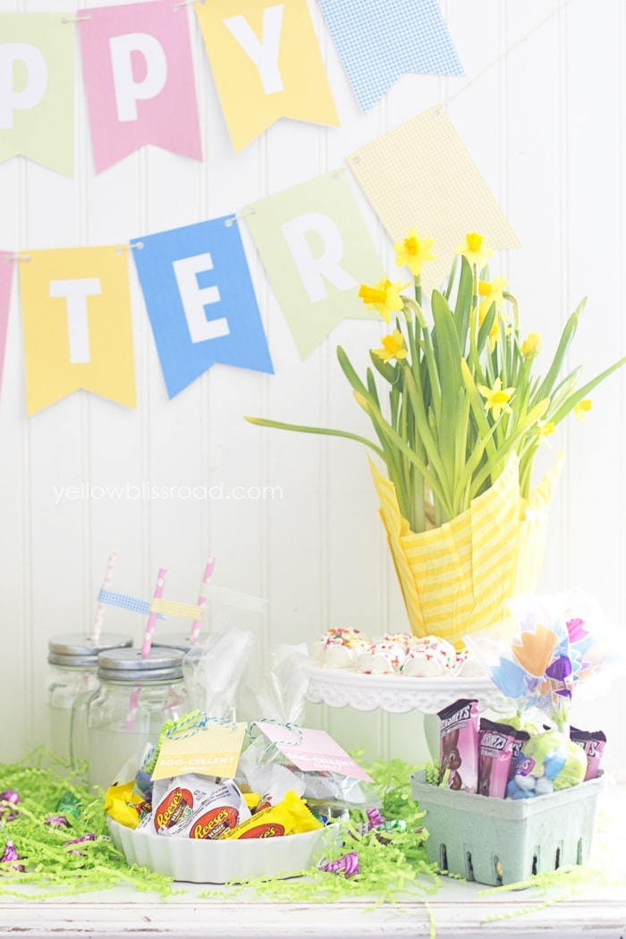 Easter Party Table right