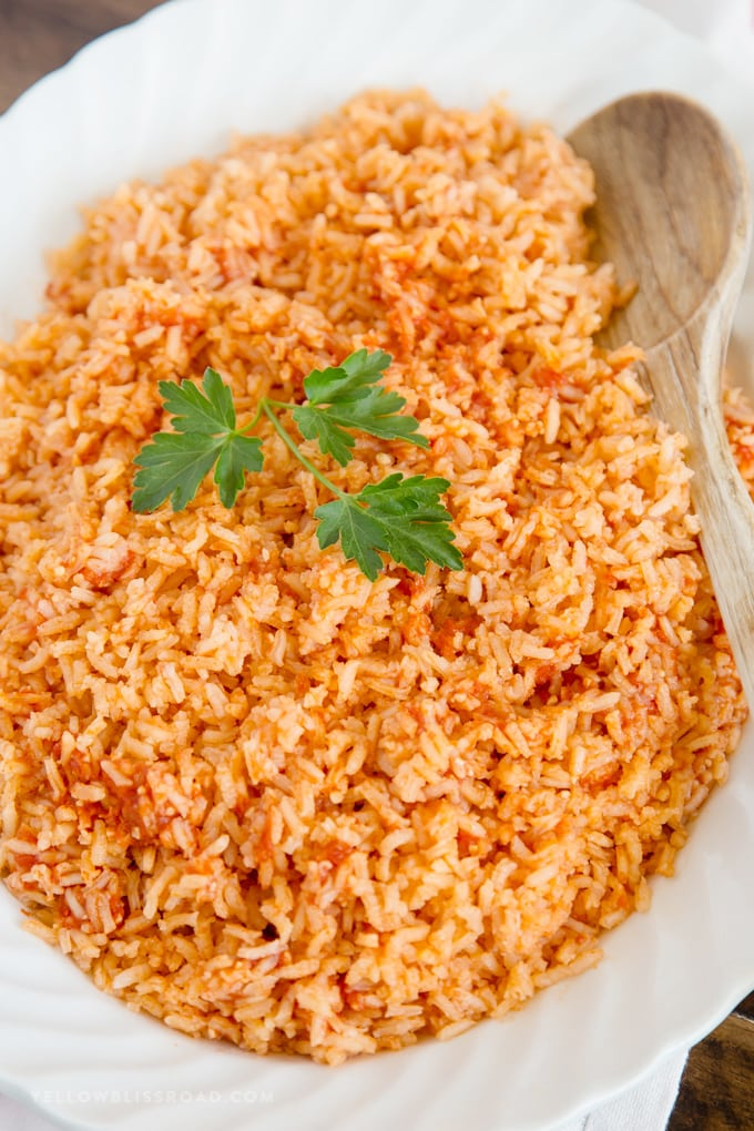 Easy Authentic Mexican Rice Yellowblissroad Com