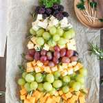 Christmas Tree Fruit Cheese Platter Yellowblissroad Com