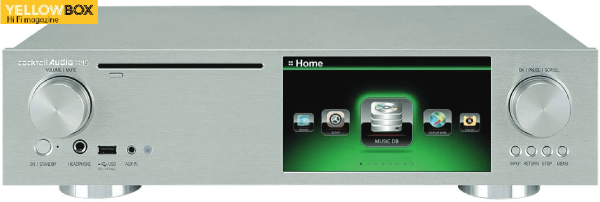Cocktail Audio X45 ! Media Server/CD Ripper/DAC/ADC/Preamplifier. (English Version)