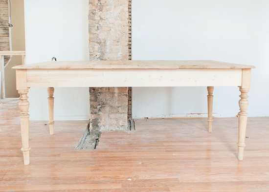 The Farmhouse Table Deconstruct To Reconstruct Yellow