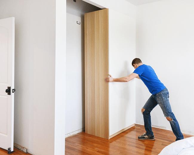 Closet Making Day Success Yellow Brick Home