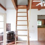 Our Loft Ladder Goes Electric Yellow Brick Home