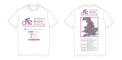 Children's Hospital Challenge T-Shirt Design