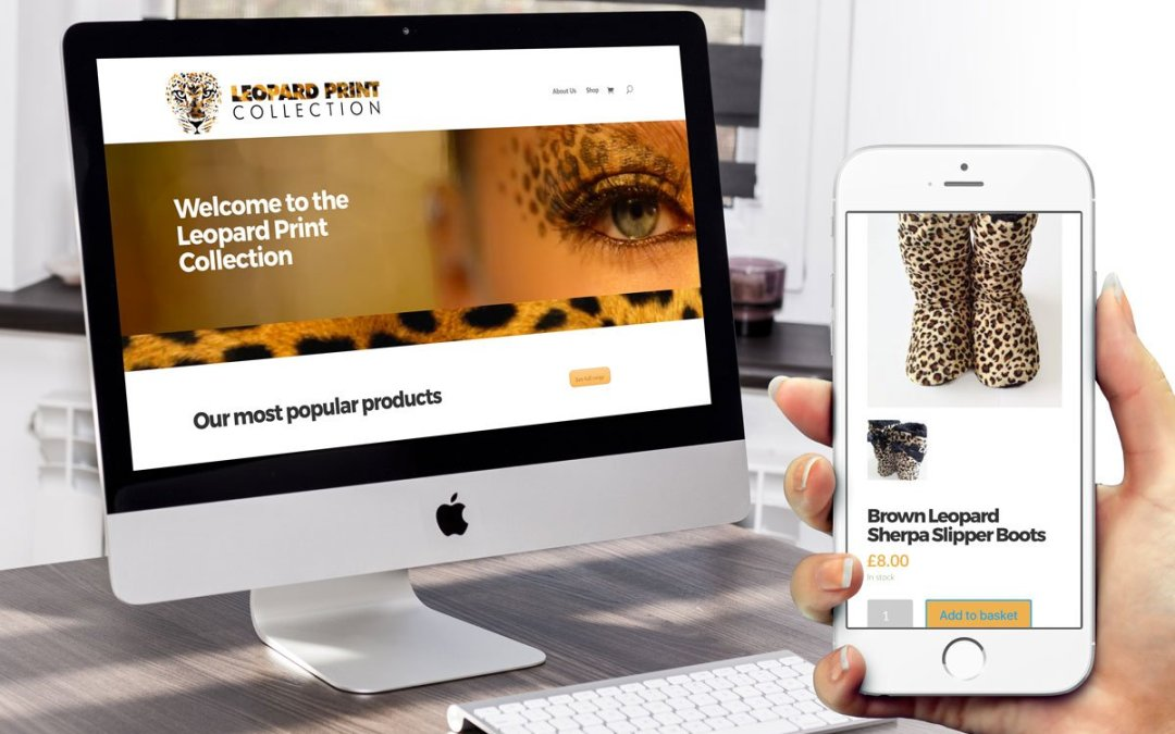 Leopard Print Collection Identity
