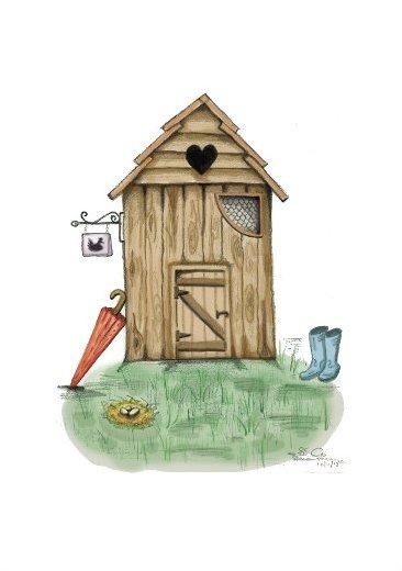 Chicken House Art