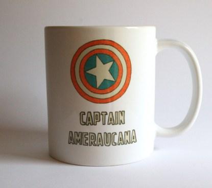 Captain Ameraucana Chicken Mug