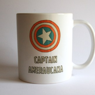 Captain Ameraucana Chicken Mug