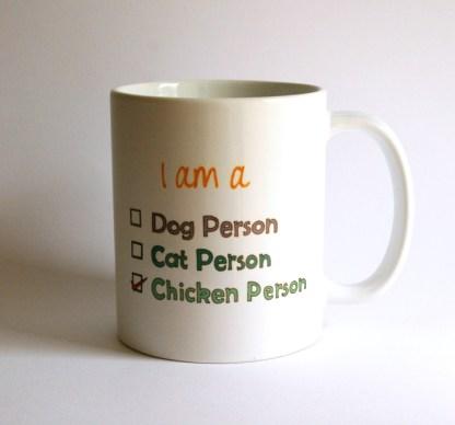 Chicken Person Mug