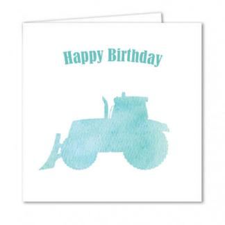 Tractor Birthday Card