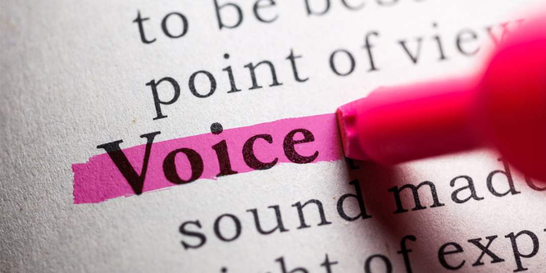 Has your voice changed?