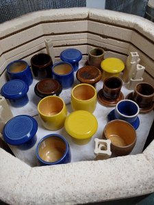 A full and (almost) perfect kiln load