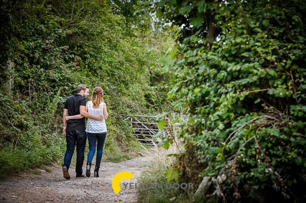 Engagement photos in Hardwick