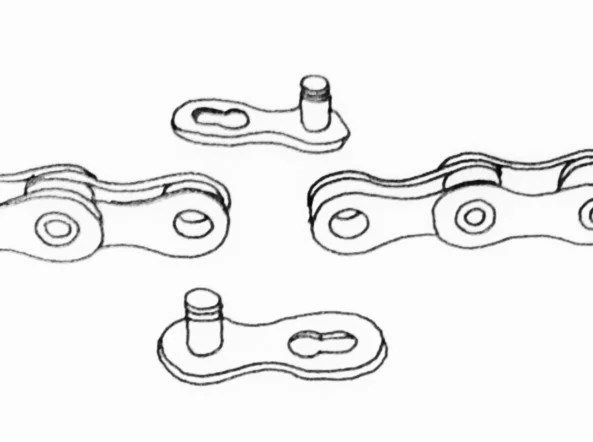 fig 25 - How to repair a broken bicycle chain