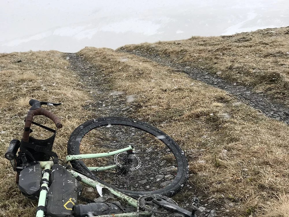 Cycling the Monega Pass - Bikepacking the highest road in Scotland 13