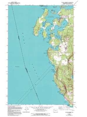 Roche Harbor Topographic Map WA USGS Topo Quad 48123e2