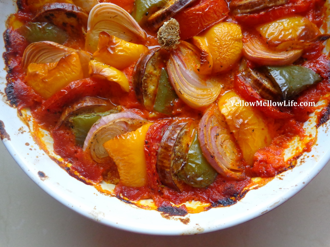 My Version of Sorted's Version of Thomas Keller's Version of a Traditional Ratatouille