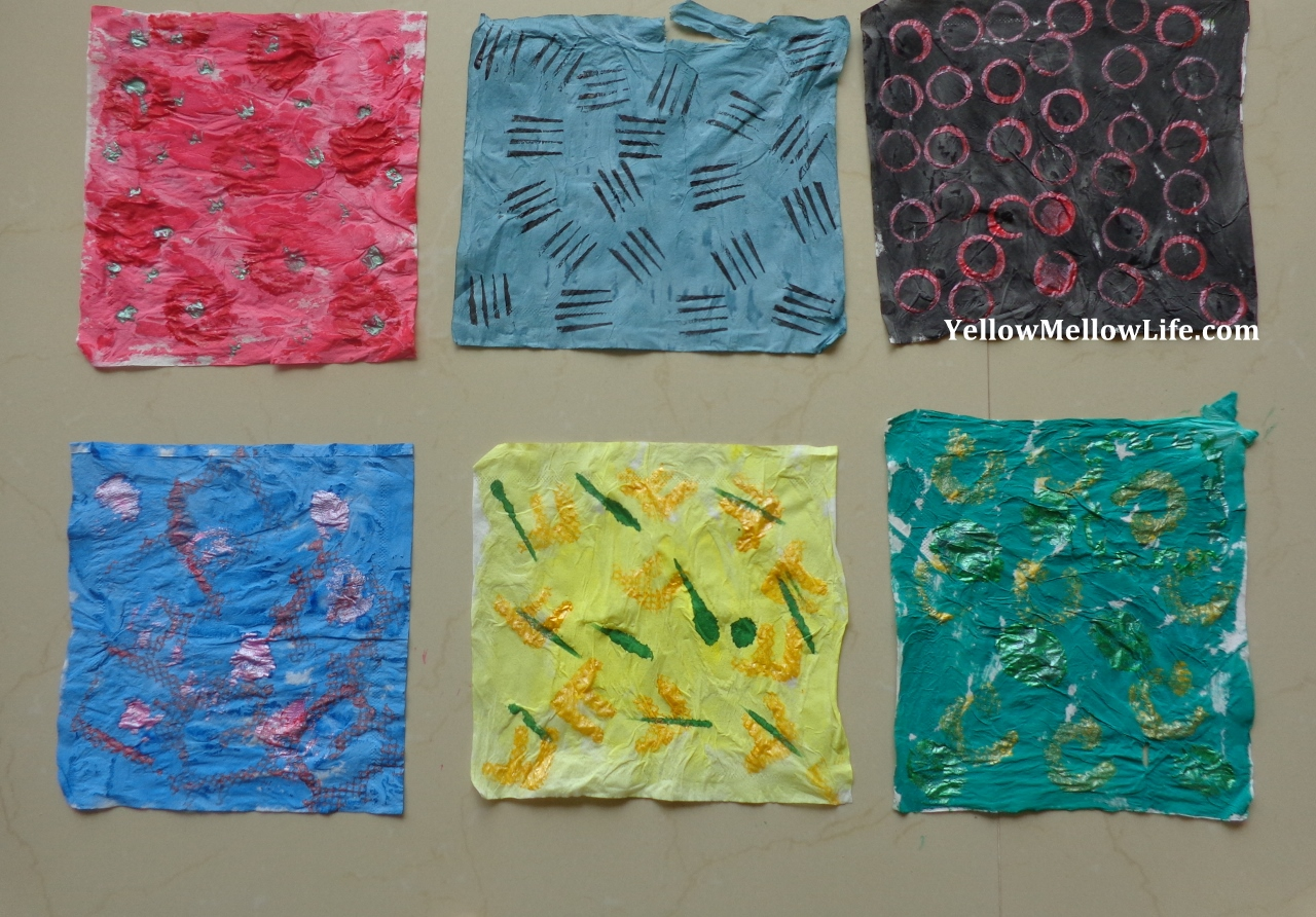 The Eric Carle Tissue Paper Art Project