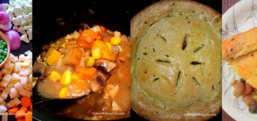 vegetable pot pie for thanksgiving