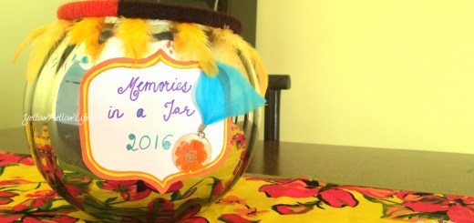 DIY 2016 Memory Jar Craft