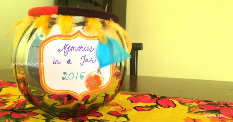 Digging Through My 2015 Memory Jar and How Can You Make One Too!