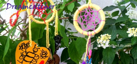 dreamcatcher necklace DIY