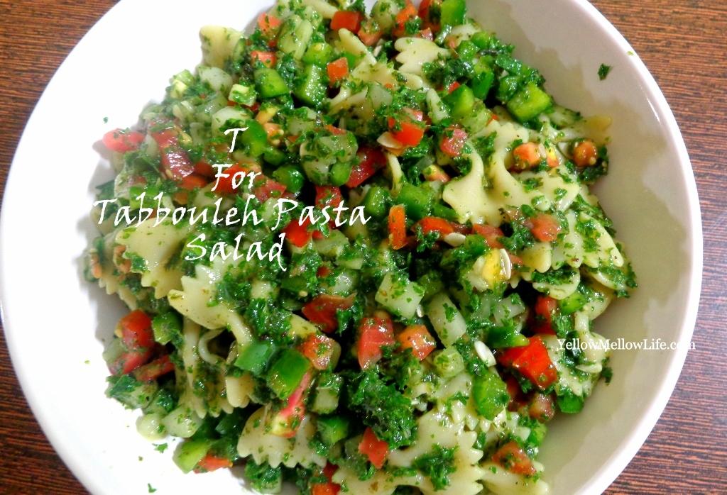 Tabbouleh Pasta Salad – Making Tabbouleh Without Bulgur