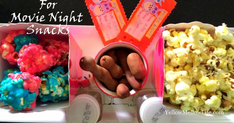 Let's Stay in and Watch Movies – Movie Night Snacks