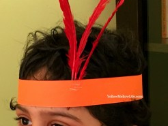 Head gear for rio birthday party