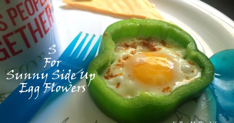 Sunny Side Up Eggs – With Flower Power