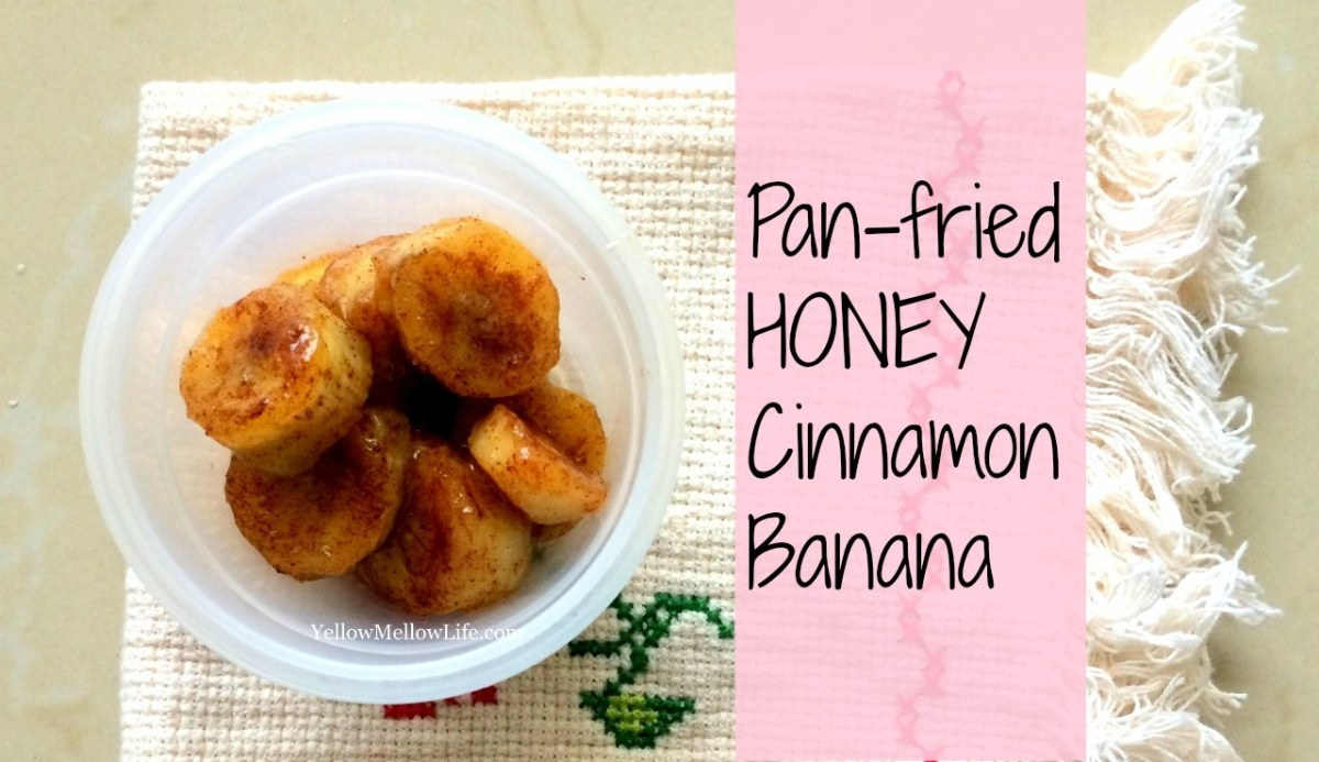 pan fried honey cinnamon banana