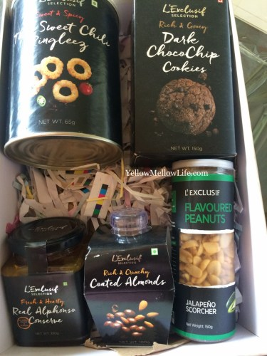 L'Exclusif Godrej Nature Basket Review Box from FBAI