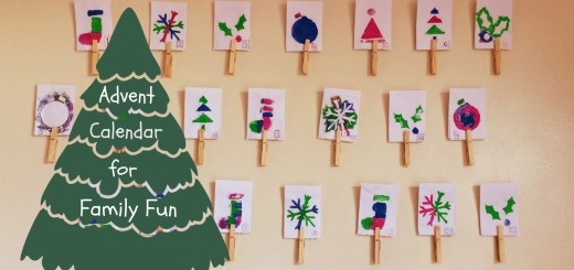 DIY advent calendar for families