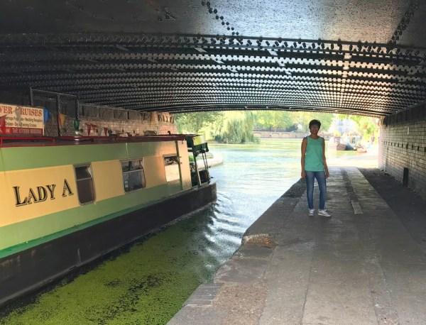 Canal walk London from Little Venice to Paddington Basin