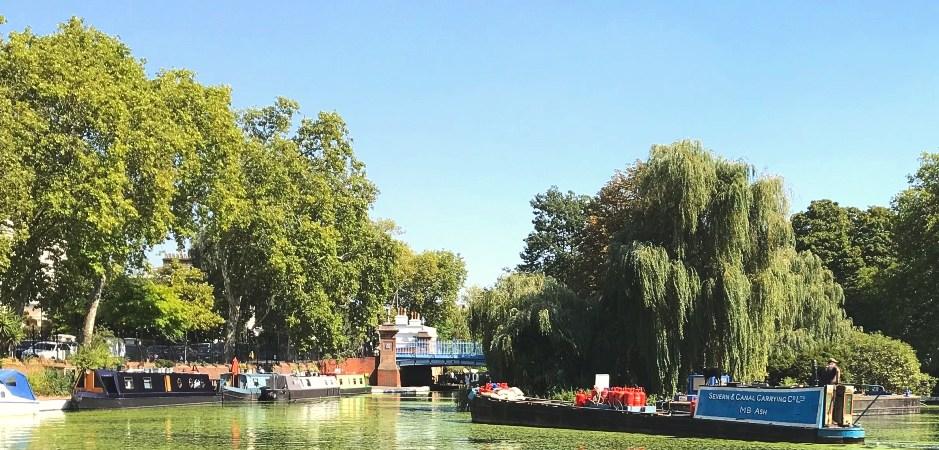 canal walks in London