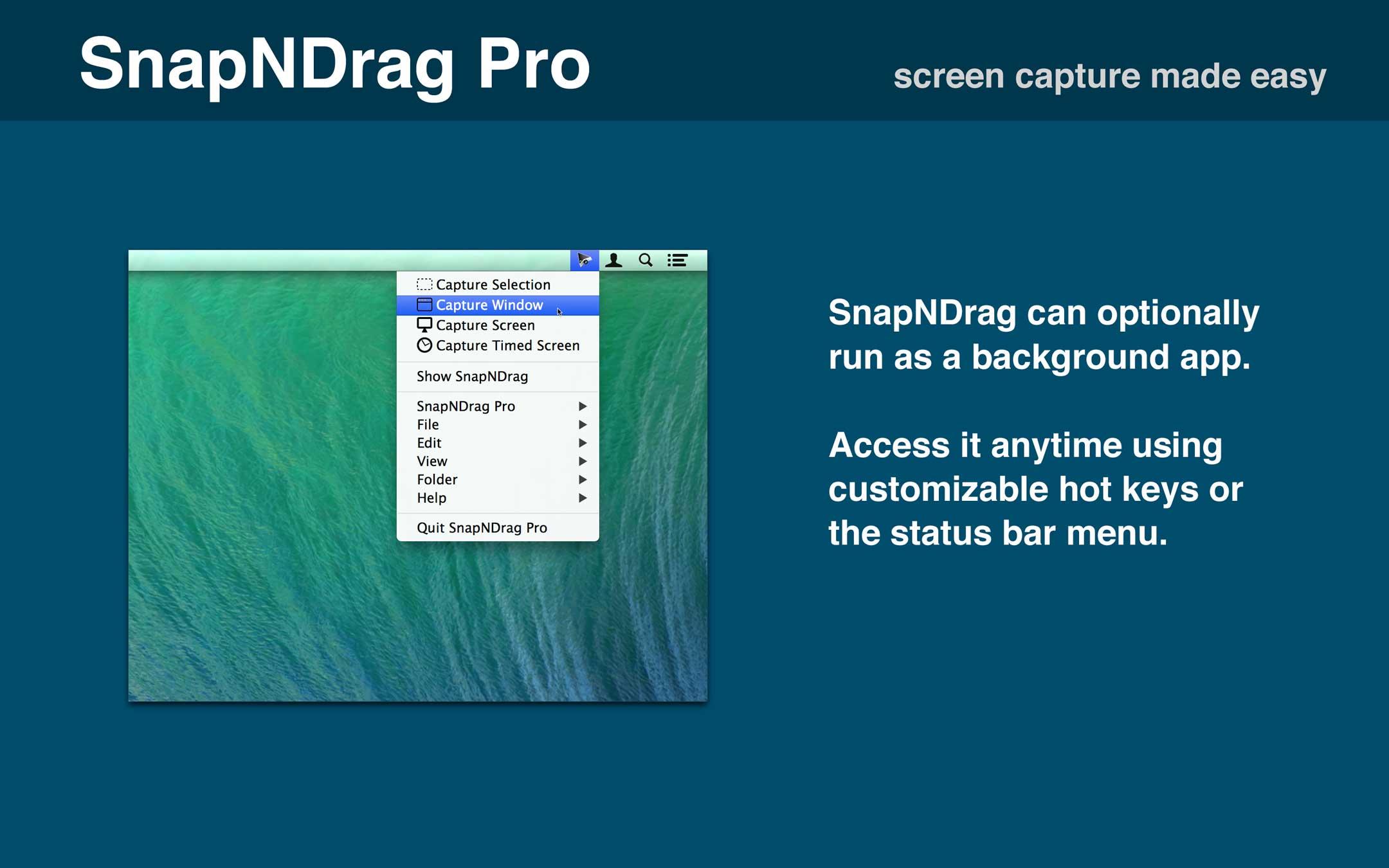 SnapNDrag Pro 4.5.1 Mac 破解版 Mac上优秀的截图和管理工具