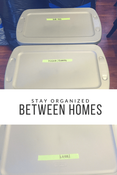 Moving Tips: Stay Organized Between Homes
