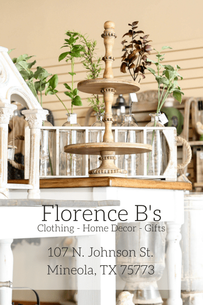 Florence B's | Clothing- Home Decor- Gifts | Mineola, TX