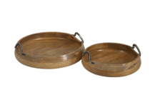 Shop the post, wood trays apartment kitchen reveal